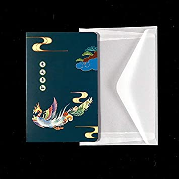 Tarjeta De Felicitación Postal Pequeña Tarjeta Doblada Hojas Flores Secas Pequeña Tarjeta De Felicitación Diy Remontarse 1