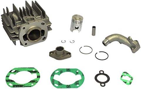 Zylinder 70 ccm komplett Ersatzteil f/ür//kompatibel mit Hercules Sachs Prima5S Prima 504//505 /Ø 45mm Tuning