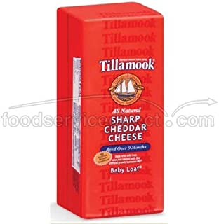 product image for Tillamook Sharp Cheddar Cheese Loaf, 10 Pound -- each.