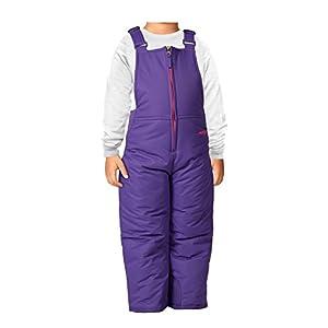 Arctix Infant/Toddler Insulated Snow Bib Overalls,Purple,3T