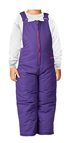 Arctix Infant/Toddler Insulated Snow Bib Overalls,Purple,3T ()