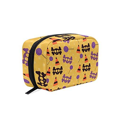 MALPLENA Halloween Bones make up pouch for women Make Up Pouch -