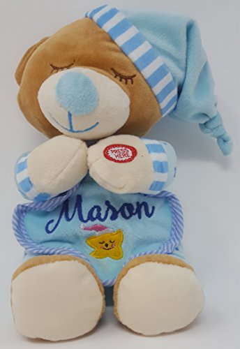 Personalized Teddy Bear with Your Childs Name - Plush Teddy – Now I Lay Me Down to Sleep Prayer Bear – Children's Toy by WeMadeItForU (Personalized Angel Bear)