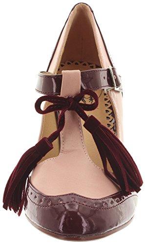 Dancing Days Burgundy Blush Women's Ankle rpqOr7