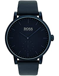 1513502 Blue 42mm Stainless Steel Essence Mens Watch. Hugo Boss