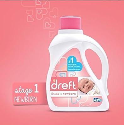 Newborn Liquid Laundry Detergent Specially formulated for newborn babies (HE) 50 oz 32 loads