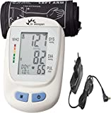 Dr. Morepen BP 09 Fully Automatic BP Monitor With Free AC/DC Adaptor & Charger