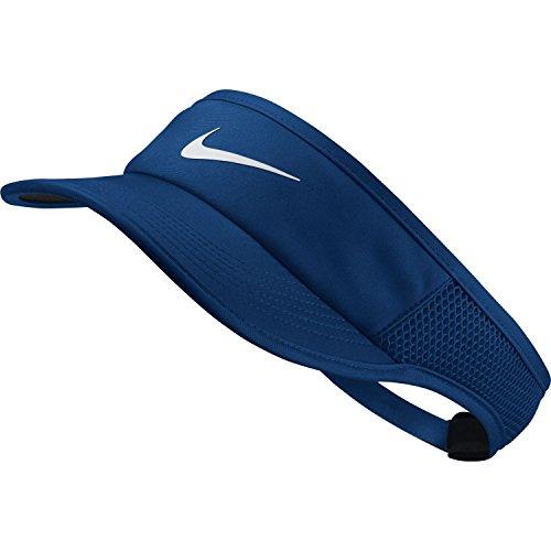 (Women's NikeCourt Aerobill Tennis Visor - Blue Jay)