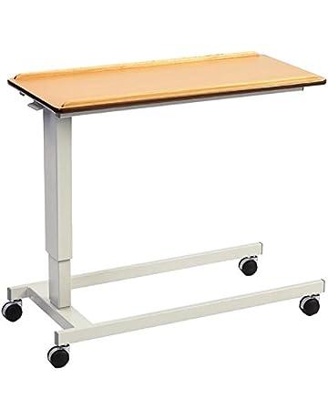 NRS Healthcare Easylift – Elevador Overbed/mesa auxiliar para silla (Madera de Haya n43553