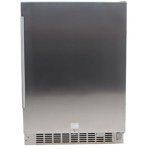 Edgestar 24 inch wide 142 can built in outdoor beverage for Built in microwave 24 inches wide