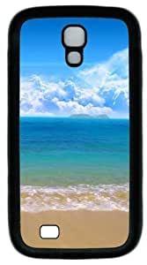 Cool Painting Samsung Galaxy I9500 Case and Cover -Sea and beach Custom PC Soft Case Cover Protector for Samsung Galaxy S4/I9500