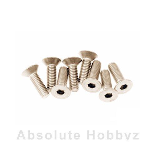 Mugen Sjg 3X10T F/H Titanium Screw (8Pcs)