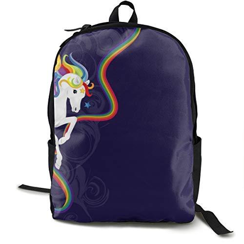 Travel Backpack Laptop Backpack Large Diaper Bag - Rainbow Brite And Starlite Memories Backpack School Backpack For Women & - Brite Backpack Rainbow