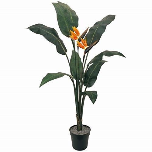 人工観葉植物 バードオブパラダイスポット 高さ160cm fg26450 (代引き不可) インテリアグリーン 造花 B07T34GMK4