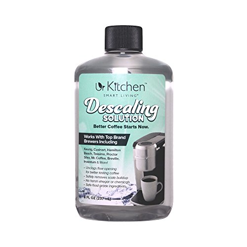 [BEST QUALITY] 2 Pack urKitchen Descaling Solution - Coffee Machine Descaler For Keurig Cusinart Hamilton Beach Tassimo Breville Mr. Coffee & More - Also Great Descaler For Espresso Machine 100% SAFE (Expresso Kit compare prices)