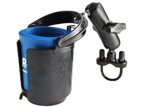 RAM MOUNTS RAM-B132R Drink Cup Holder with U-Bolt Base ()
