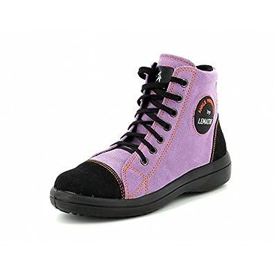 chaussures de séparation 51edc 9c7aa Lemaitre Basket DE SECURITE Femme Vitamine Haute Rose