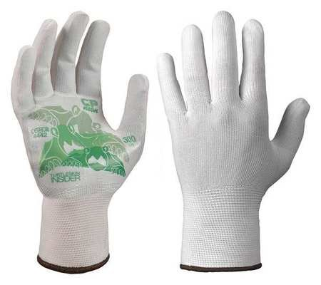 Glove Liners Nylon/Polyester S Wht Pr