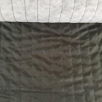 Tela forro acolchado algodón sintética tela relleno sintética Lale verde: Amazon.es: Hogar