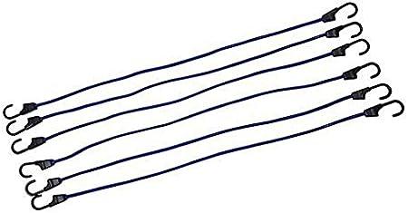 6 pzas 400 mm Silverline 140821 Cuerdas el/ásticas