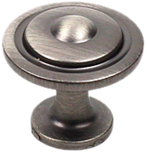 Century Hardware 21416-APH Lisbon Zinc Die Cast Knob, Pewter