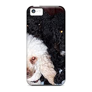 Awesome TGw18027dvRG ChrisArnold Defender Hard Cases Covers For Iphone 5c- Poodle Family