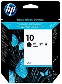 Hp - Cartucho tinta 10 c4844a negro 69ml 500/100/ 800/1200/ 1700: Amazon.es: Oficina y papelería