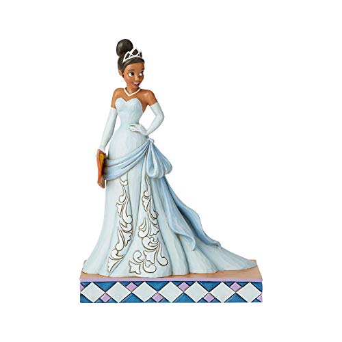 Jim Shore Frog - Enesco Disney Traditions by Jim Shore Princess Passion Tiana Figurine