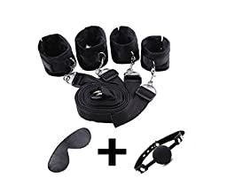 Restraint system kit medical grade velcro adjustable soft wrist and ankle cuffs