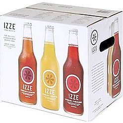 Izze Sparkling Juice, Variety 12 Pack, 12 Fl Oz Bottles, All Natural