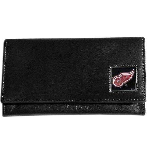 NHL Detroit Red Wings Women's Leather Wallet
