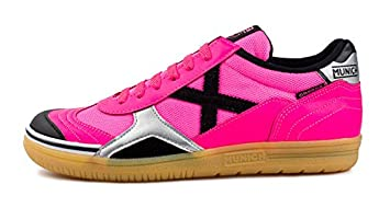 Munich Zapatilla Gresca Talla 39, Color Rosa, Negro