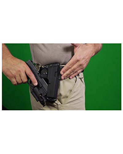 Fobus Tatical concealed carry 5cm Police Wide Belt ROTO Rotating Left Hand Tactical Holster for Glock 17, 22 / Smith… 5