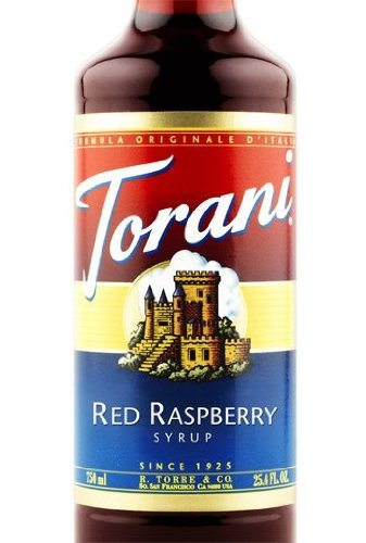 Torani Red Raspberry Syrup, Dairy Friendly - Red Raspberry Cakes
