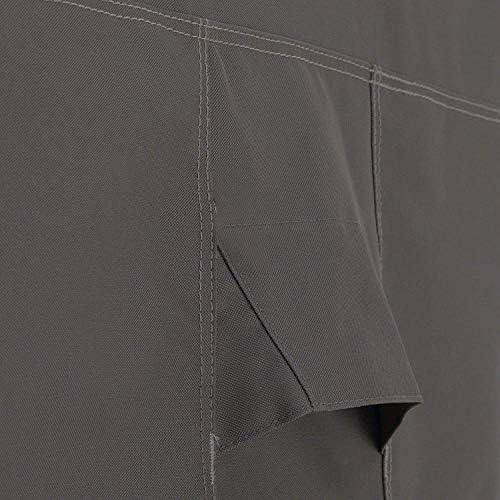 家具カバー 屋外薪カバーベランダログインカバー、ヘビーデューティ4シーズンズのための丈夫な生地はめあい、防水UV耐性のある材料、屋外薪カバー244x107x61cmラック ダストバッグ (Size : 210D244*107*61cm)