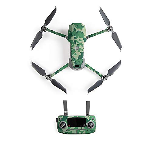 PGYTECH Skin Sticker for Drone Compatible with DJI Mavic 2 Includes Drone Skin, Controller Skin and 6 Battery Skins(HA-052)