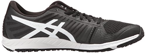 Silver Cross M Black 5 Asics Us White Trainer Fuzex Tr Women's Shoe O8wPkn0