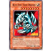 Yu-Gi-Oh! - Blue-Eyes Toon Dragon (SDP-020) - Starter Deck Pegasus - Unlimited Edition - Common by Yu-Gi-Oh!