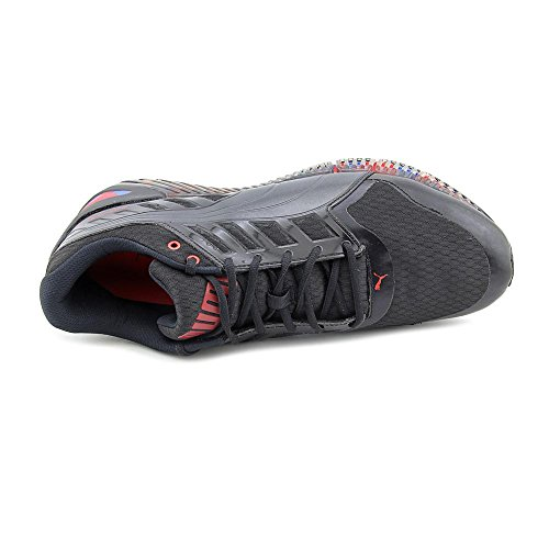 Zapato Puma Quickflex Formación V2 Black-High Risk Red