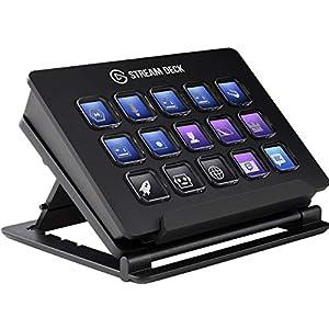 Elgato Stream Deck Individuale Controllo Creazione di Contenuti in Diretta con 15 Tasti LCD Personalizzabili, per Windows 10 e macOS 10.13 o Successivi 9 spesavip