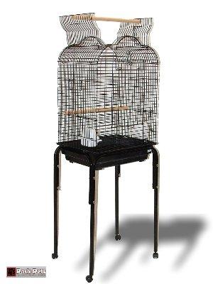 Grande Parte Superior Abierta torenzo Jaula para Pájaros con ...