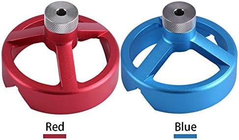 LetCart Bohrführungswerkzeug, 6//7/8/9/10 mm Zentrieren Holzbearbeitungswerkzeug Bohrführung Vertikales Bohrvorrichtungsset(rot)