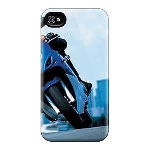 Fashion RdAsq5963lIYcI Case Cover For Iphone 4/4s(2008 Suzuki Gsx 650f Action)