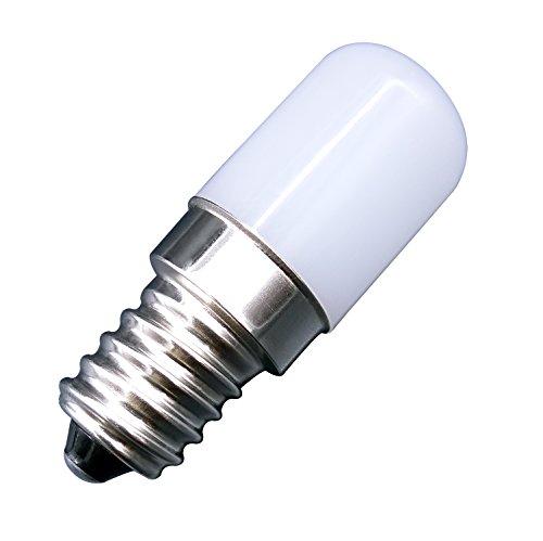 MZMing [2 Pack]E14 LED Bulbo 1.5W Máquina de Coser Bombilla de Reemplazo para 15W Lámpara Halógena Brillante Blanco Cálido 2700K 120lm-No Regulable Calor ...