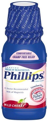 Phillips' Wild Cherry Milk of Magnesia Liquid, 26-Ounce Bottles (Pack of 2)