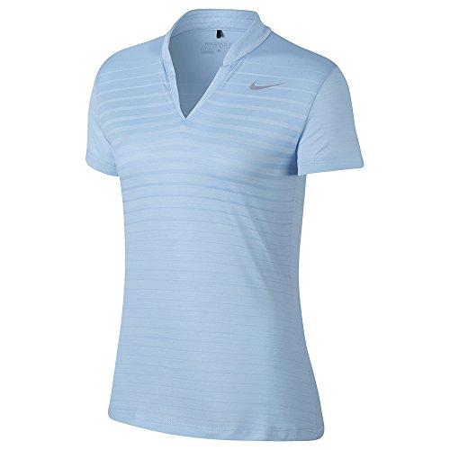 Mujer Polo Nike blue 855293 Azul f6gzgOZc