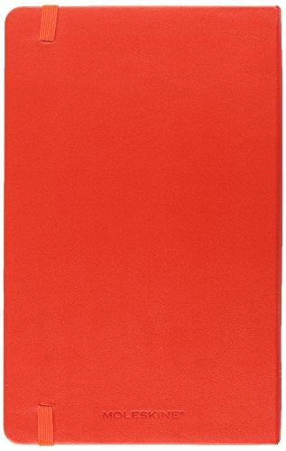 Moleskine Art Plus Sketchbook, Large, Plain, Red, Hard Cover (5 x 8.25) (Classic Notebooks)