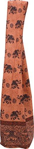 Monks Brown Large Brand Elephant Thai Shoulder Bag Cotton Yaam Sienna RaanPahMuang Batik Sling HfXYxnqBH7