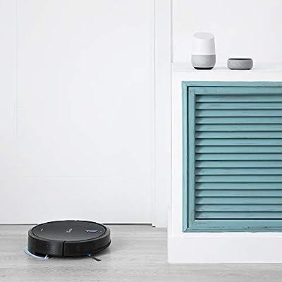 Cecotec Robot Aspirador Conga 1090 Connected Force. App Control, Aspira, Barre, friega y Pasa la mopa, Alexa y Google Assistant, Cepillo Especial para Mascotas, Fregado Inteligente.: Amazon.es: Hogar
