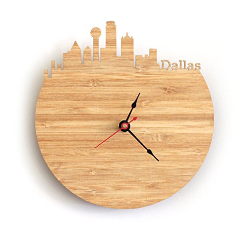 Dallas Skyline Clock